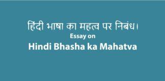 hindi bhasha ka mahatva