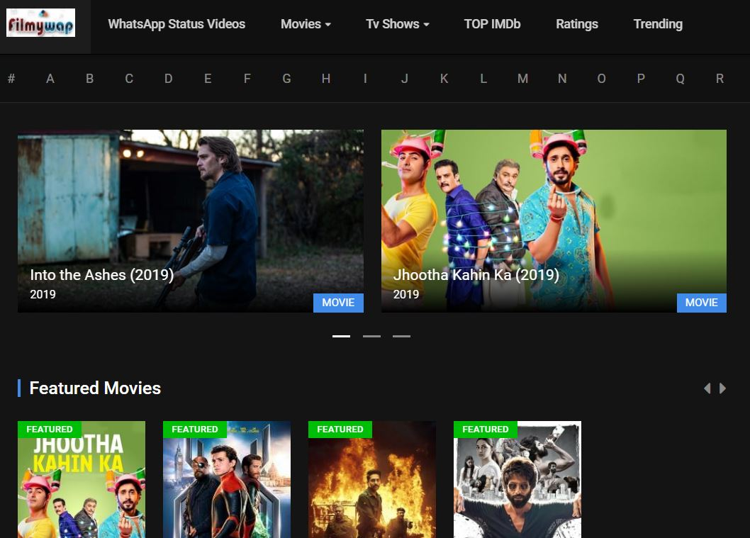 Filmywap 2019 Download Bollywood Punjabi Hollywood Movies Free