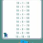 10 ka table 10 ka pahada math table 10 का पहाड़ा 10 का टेबल गणित के पहाड़े