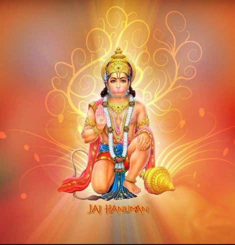 Hanuman Jayanti par 10 lines
